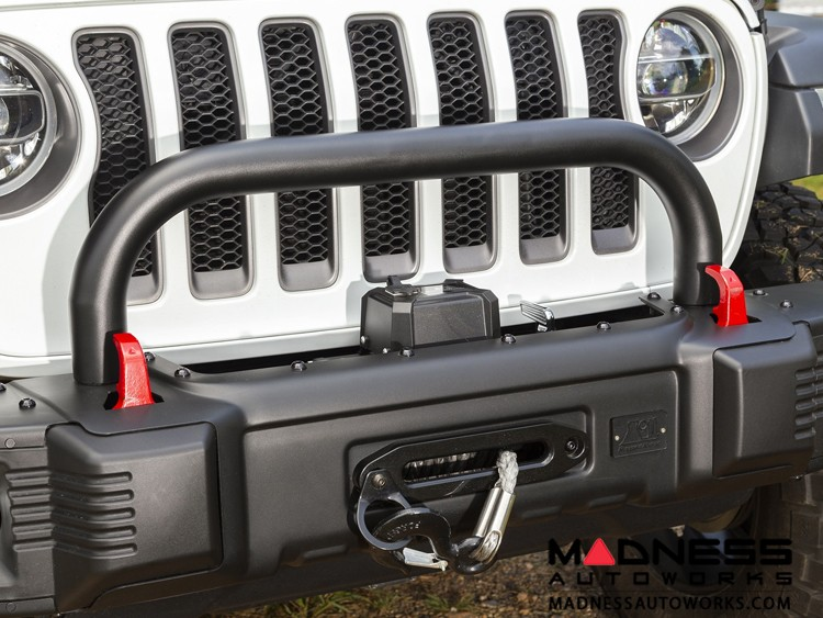 Jeep Gladiator Spartacus Bumper Overrider - Tubular Steel