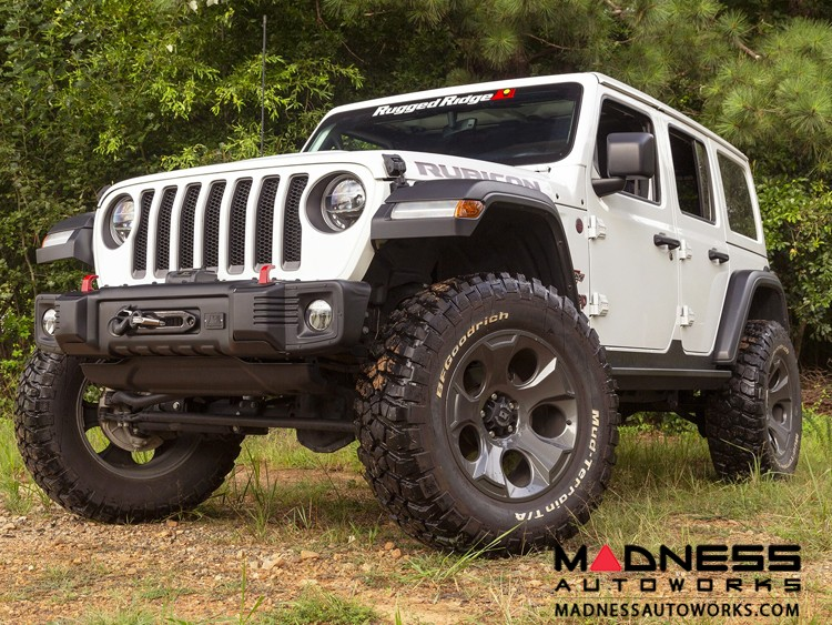 Jeep Gladiator Spartacus Stubby Bumper - Front - Black
