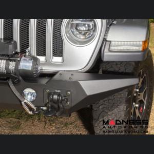 Jeep Gladiator Spartan Bumper w/Standard Ends - Front