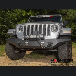 Jeep Gladiator Spartan Bumper w/Standard Ends - Front