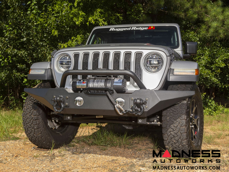 Jeep Gladiator Spartan Bumper w/ Standard Ends & Overrider - Front