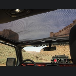 Jeep Gladiator JT Eclipse Sun Shade - Hard Top - Black