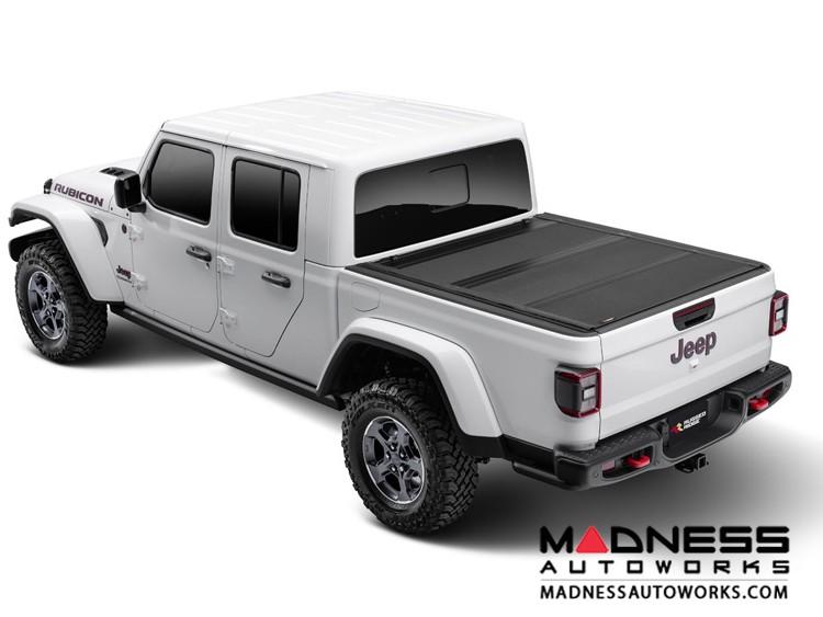 Jeep Gladiator JT Armis Hard Folding Bed Cover w/ LINE-X
