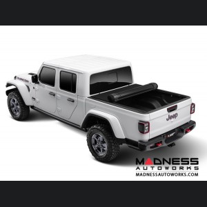 Jeep Gladiator Armis Hard Rolling Bed Cover w/ Trail Rail Cargo System