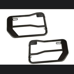 Jeep Gladiator Front Tube Doors w/Mirrors - OD Steel