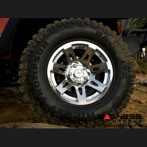 "Jeep Gladiator XHD Wheel - 17x9"" - Chrome"