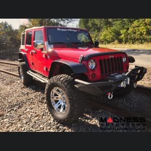 "Jeep Gladiator XHD Wheel - 17x9"" - Chrome"