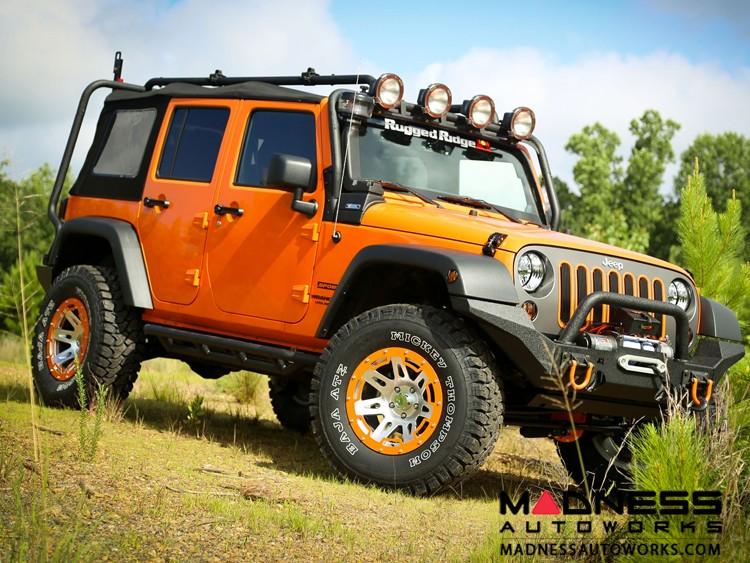 "Jeep Gladiator XHD Wheel - Aluminum - 17x9"" - Aluminum"