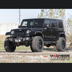 "Jeep Wrangler JK Unlimited Suspension Lift Kit w/ Control & Vertex Reservoir Shocks - 3.5"" Lift"