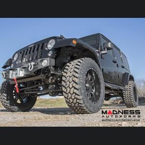 "Jeep Wrangler JK Unlimited Suspension Lift Kit w/ Control & Vertex Reservoir Shocks - 3.5"" Lift"