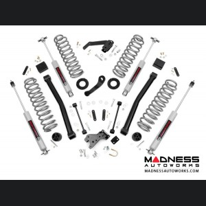 "Jeep Wrangler JK Suspension Lift Kit w/ Control Arms & Vertex Reservoir Shocks - 3.5"" Lift - 2 Door"