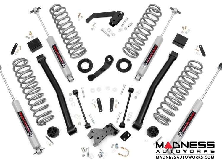 "Jeep Wrangler JK Suspension Lift Kit w/Control Arms - 3.5"" Lift"