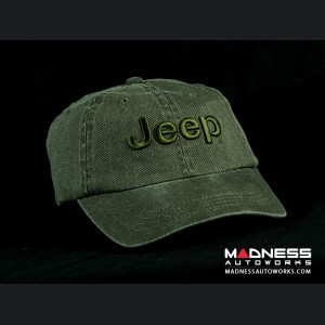 Jeep Cap - Green w/ Jeep Logo