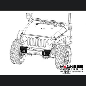 "Jeep Wrangler JK Crawler Caps - 46"""