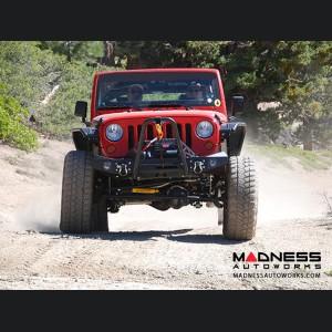 Jeep Wrangler JK Fixed Fairlead Offset Mount - Aluminum