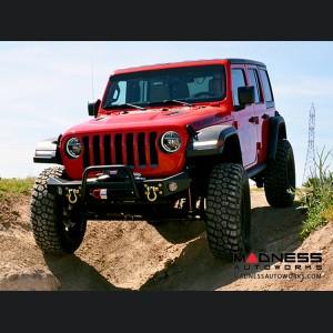 Jeep Wrangler JK Frame-Built Bumper Base - Combo