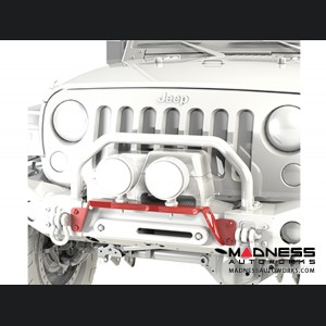 Jeep Wrangler JL Bumper Light Bar - Front