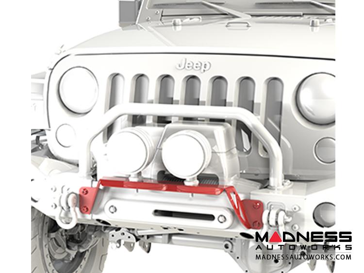 Jeep Jeep Wrangler Jl Bumper Light Bar Front Madness