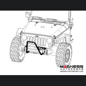 Jeep Wrangler JK Mid Stinger Frame Built Bumper