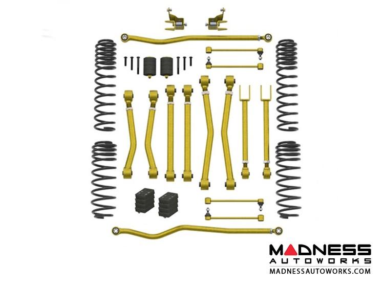 "Jeep Wrangler JL Game-Changer Suspension - No Shock Edition - 2.5""/3.5"""