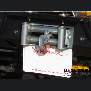 Jeep Wrangler JK Roller Fairlead Mount - Center Kit