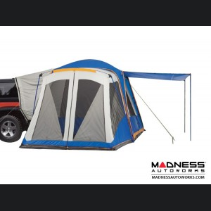 Jeep Renegade Camping Tent - 10x10 w/ Vehicle Attachment + 7x6 Screen Room