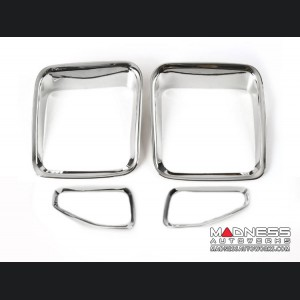 Jeep Renegade Taillight Inner Trim Pieces - Chrome