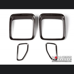 Jeep Renegade Taillight Inner Trim Pieces - Black