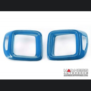Jeep Renegade Taillight Cover Set - Blue