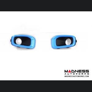Jeep Renegade Fog Light Trim Kit - Blue