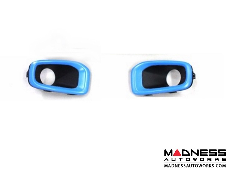 Jeep Renegade Fog Light Trim Kit - Blue