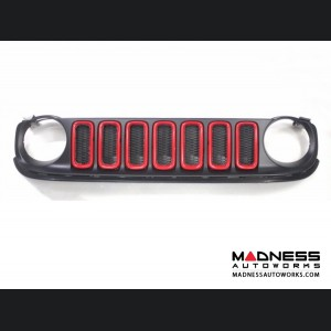 Jeep Renegade Grill Trim Kit - Red