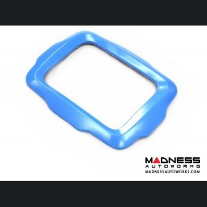Jeep Renegade Radio Bezel Trim Piece - Blue - Uconnect 3.0/ 5.0 Systems