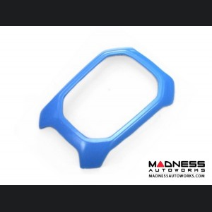 Jeep Renegade Shift Bezel Trim Piece - Blue