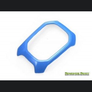 Jeep Renegade Shift Bezel Trim Piece - Blue