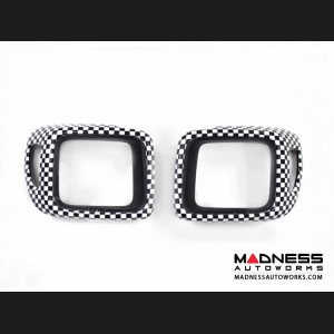 Jeep Renegade Taillight Trim Kit - Checkered Pattern