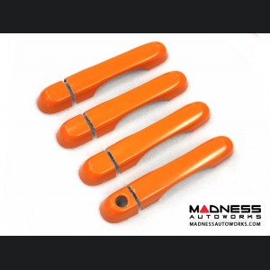 Jeep Renegade Door Handle Trim Kit - Orange