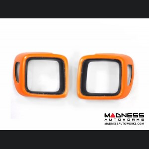 Jeep Renegade Taillight Trim Kit - Orange