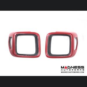 Jeep Renegade Taillight Trim Kit - Red