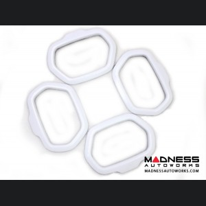 Jeep Renegade Speaker Trim Kit - White
