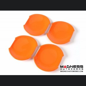 Jeep Renegade Door Handle Bowl Cover Set - Orange
