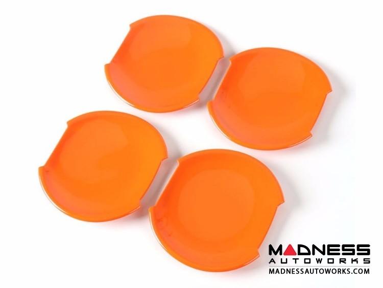 Jeep Renegade Door Handle Bowl Cover Set - Orange