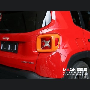 Jeep Renegade Taillight Cover Set - Orange