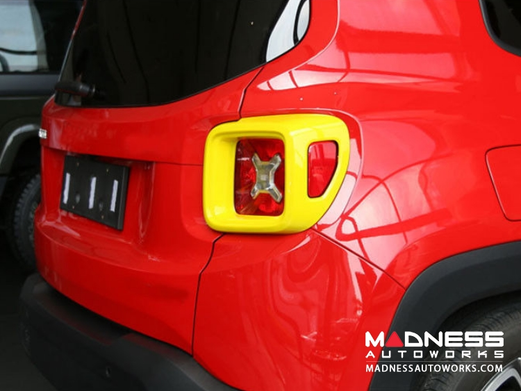 Jeep Renegade Taillight Cover Set - Yellow
