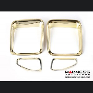 Jeep Renegade Taillight Inner Trim Pieces - Gold