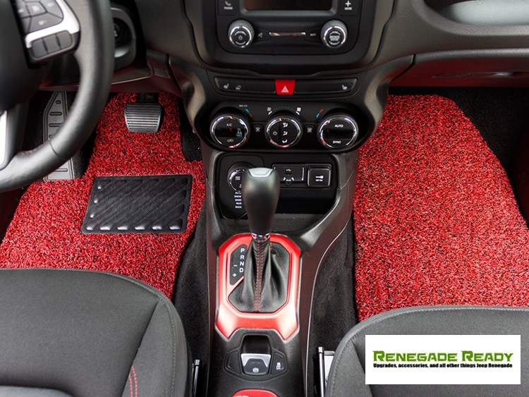 protect the interior carpet of your jeep renegade with all weather floor mats jeep renegade forum. Black Bedroom Furniture Sets. Home Design Ideas