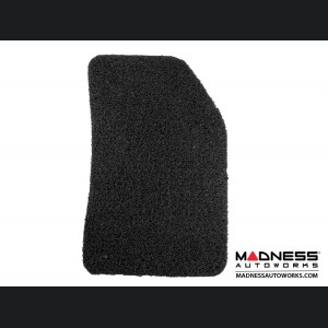 Jeep Renegade All Weather Floor Mats (set of 4) - Custom Rubber Woven Carpet - Black