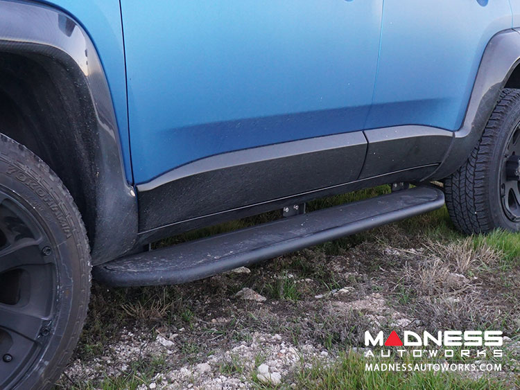Jeep Renegade Running Boards - Black Powder Coat Finish
