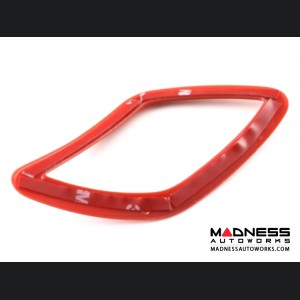 Jeep Renegade Dashboard Vent Trim Set  - Red