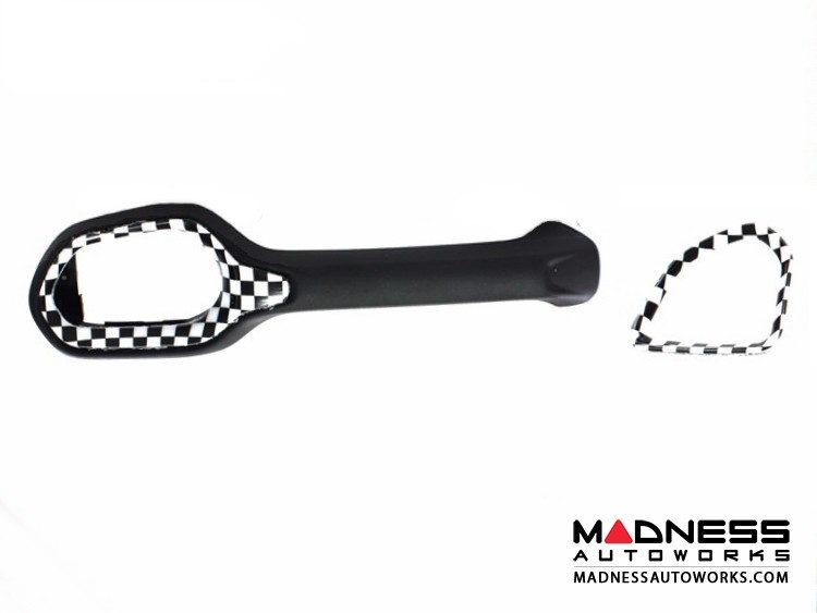Jeep Renegade Vent Trim Kit - Checkered Pattern - Right Hand Drive
